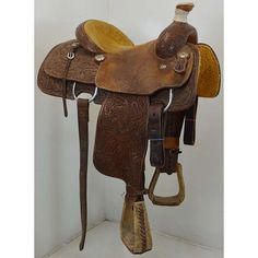 "Used 14.5"" Shawn Wilke Calf/Team Roping Saddle Code: U145SHAWNWILKE78 #ShawnWilke"