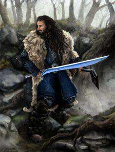 Thorin Oakenshield by ~sekiq on deviantART
