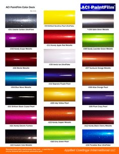 Maaco paint selection | Spraying | Pinterest | Car paint ...