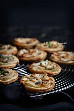 Nina's Kitchen: Tartaletas de pera y queso azul