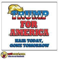 WTFeCard - www.wtfecard.com - #ecard #WTF #humor #adult #someecard #politicallyincorrect #blunt #greetings #trump #trump2016 #election #gop #republicans