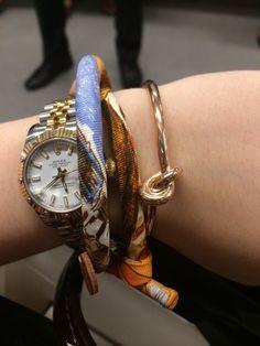 Celine thin knot bracelet - PurseForum