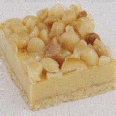 Recipe Print Caramel Macadamia Slice recipe - All recipes Australia NZ Baking Recipes, Cake Recipes, Dessert Recipes, Desserts, Tea Recipes, Dessert Ideas, Aussie Food, Australian Food, Australian Recipes
