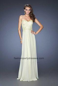 Graceful LF19342 Strapless Sweetheart Chiffon Formal Gown