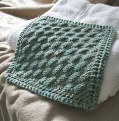 Pattern..Washcloth..Basket Weave Created on by BountifulCre8tivity, $2.00