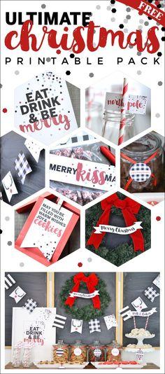 Christmas printable pack.