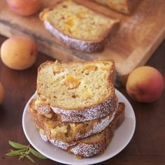 Skinny Apricot Loaf Cake - No butter or oils, easy on calories, extremely moist, soft & delicious