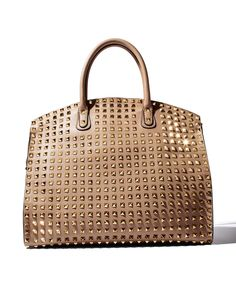 At almost three thousand dollars, this is style inspiration only: Valentino Allover Rockstud Zip Dome Bag