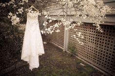 Tinted Photography Winter #Wedding Dress