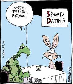 Speed dating puns