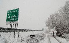 Maltempo, ancora neve sulla Calabria. LE FOTO