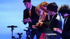 "MATRIXSYNTH: DigiEnsemble Berlin Premiers ""Apps on Stage"" - Documentary & Thoughts on the Use of iPads Live"