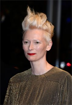 Tilda Swinton - Acconciature capelli corti