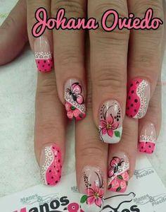 28 Ideas For Nails Spring Natural Art Designs Fabulous Nails, Perfect Nails, Gorgeous Nails, Spring Nails, Summer Nails, Cute Nails, Pretty Nails, Diy Nail Designs, Flower Nail Art
