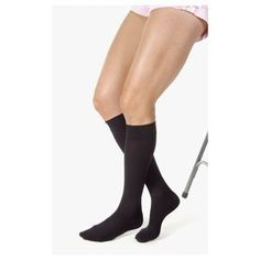 JOBST 114732 RELIEF KNEE HIGH BLACK LG >>> Click image to review more details.