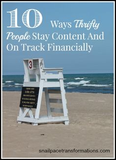 Sometimes with discontentment comes the urge to stray from our financial goals. Here are 10 ways to stop that from happening.