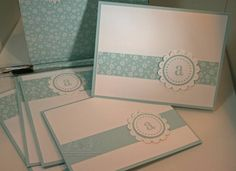 These are the cards I made to go in my 12 x 12 Box of Cards.  http://www.chicnscratch.typepad.com