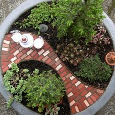 The Themed Miniature Gardens from the Great Annual Miniature Garden Contest, Part 4 of 6   The Mini Garden Guru - Your Miniature Garden Source