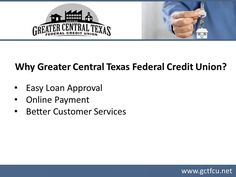 For affordable home loans in Killeen, TX, consider Greater Central Texas Federal Credit Union. Applying for loan with the credit union in Killeen offers wide range of benefits such as quick closing, low interest rates, minimal waiting period and a lot more. The clients can also apply for home loan online according to their convenience. To know more, visit : http://www.gctfcu.net