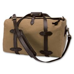 Duffle Bag-Small | Filson  I have a weird love affair with bags and this is definitely on my wish list.