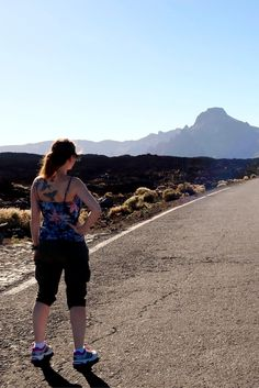 Road-crossing lava field - Teneide National Park in Tenerife - Canary Island The 5 truths about my solo scuba diving travels - World Adventure Divers - solo travel, adventure travel, scuba diving - read the full story on https://worldadventuredivers.com/2