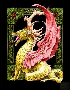 Bennett and Mae Klein - CMSB Dragons   Woodlandia Digital Colouring