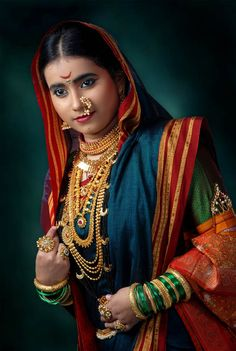 TOP 10 TRADITIONAL TYPES OF MAHARASHTRIAN JEWELLERY THAT ENHANCES THE LOOK OF EVERY MAHARASHTRIAN WOMEN | Anuradha Art Jewellery
