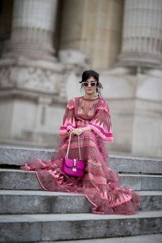 The Best Street Style From Paris Couture Fashion Week Street Style Day 2 Spring 2017, See the best street style Paris Courture FW Sp 2017 at The Impression