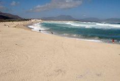 Main Beach in Kleinmond, South Africa.
