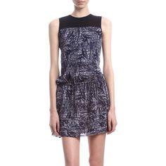 Proenza Schouler crewneck tuck dress