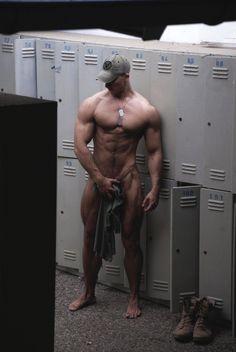 Peter Lindgren locker room