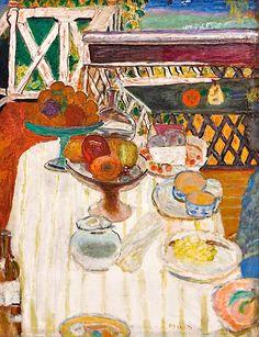 Pierre Bonnard - The White Tablecloth