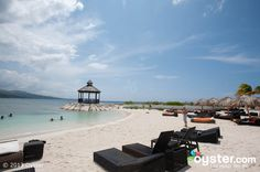 pictures of montego bay beaches   Beach at the Secrets Wild Orchid Montego Bay   Oyster.com -- Hotel ...