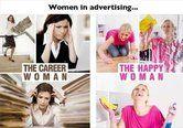 Naiset mainoksissa