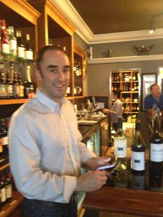 Seattle Wine Maker Ross Andrew hosted the Wine Tasting Event April 3rd