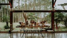 Casamento boho ao ar livre numa tarde iluminada e adorável no Paraná – Bárbara