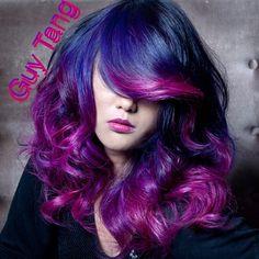 Guy Tang Hair Artist - Purple Magenta Ombre