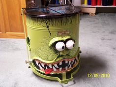 Fancy garbage cans