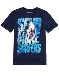 Send More Surfers Tee   Short Sleeve   Graphic Tees   Shop Brothers  (Shark!, Photo Real)