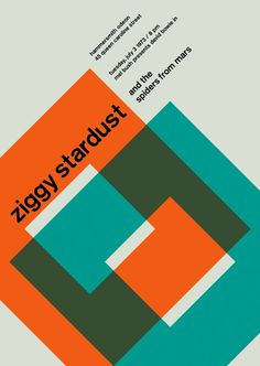 Zurich Calling: Your Favorite Punk Rock Gig Posters Meet Swiss Modernism | Co.Create: Creativity \ Culture \ Commerce