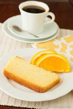 Orange Ricotta Poundcake | Laura's Sweet Spot via Giada De Laurentiis