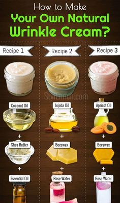 #DIYWrinkleCream: How to Make Your Own Natural Wrinkle Cream? Wrinkles are those signs of aging that start appearing with age. To get rid of these fin... - StylEnrich - Google+