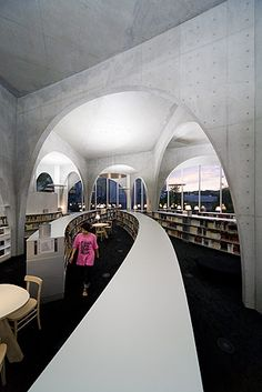 Tama Art University Library / Toyo Ito / Photograph by Iwan Baan