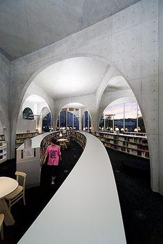 Tama Art University Library / Toyo Ito / Photograph by Iwan Baan