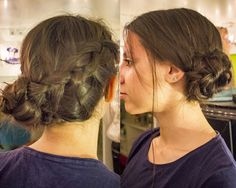 #braid #side #braidbun #casual #girly #tranças #diaadia #penteado #lateral #coquedetrança #embutida