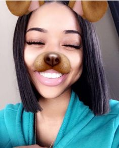 ' @kjvougee ❄️ Pretty Hairstyles, Straight Hairstyles, Girl Hairstyles, Light Skin Girls, Raw Beauty, Hair Flip, Fresh Face, Pretty People, Perfect People