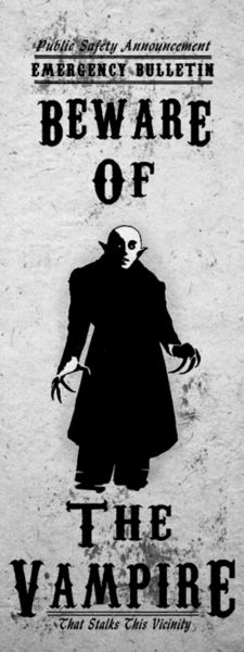 Gothic Horror Art Print Beware Nosferatu Vampire by TigerHouseArt Gothic Horror, Horror Art, Horror Movies, Horror Icons, Gothic Art, Dracula, Digital Art Illustration, The Dark Side, Monsters