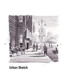 urban_sketch_value_study   Flickr - Photo Sharing!