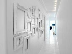10 ideas para decorar tu hogar con marcos de escayola