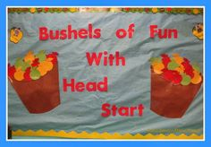 Apple Themed Back to School Bulletin Board at RainbowsWithinReach